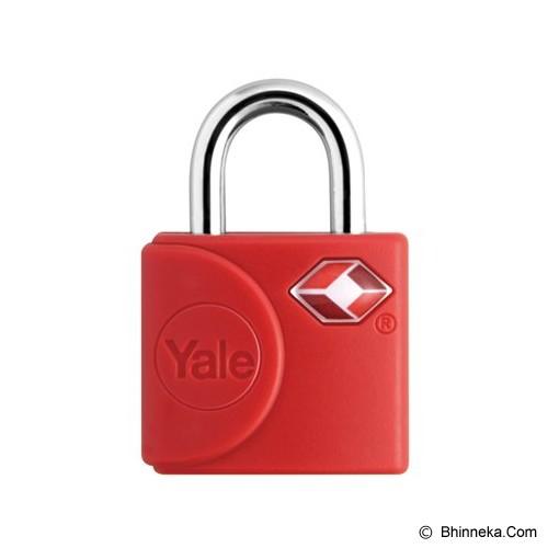 YALE Travel Lock [YTP4/25/111/2R] - Red - Gembok Kombinasi